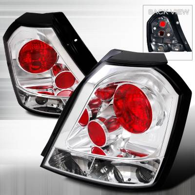 Headlights & Tail Lights - Tail Lights - Spec-D - Chevrolet Aveo Spec-D Altezza Taillights - Chrome - LT-AVE04-TM
