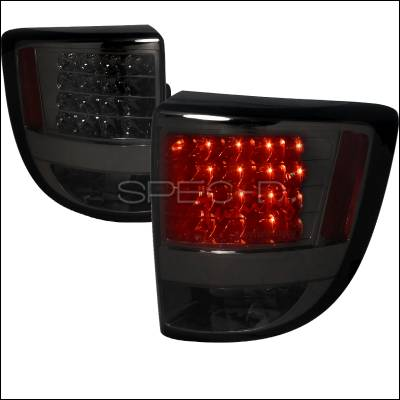 Headlights & Tail Lights - Tail Lights - Spec-D - Toyota Celica Spec-D LED Taillights - Smoked Lens - LT-CEL00GLED-TM