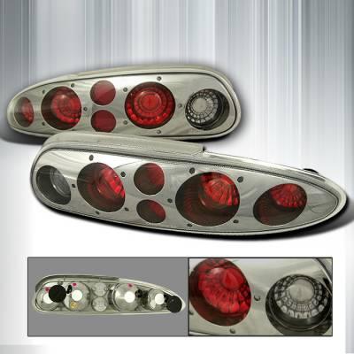Headlights & Tail Lights - Tail Lights - Spec-D - Chevrolet Camaro Spec-D Altezza Taillights - Smoke - LT-CMR93G-KS