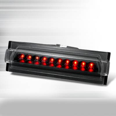 Headlights & Tail Lights - Tail Lights - Spec-D - Chevrolet Corvette Spec-D LED Third Brake Lights - Black - LT-CVET91RBJM-ABM