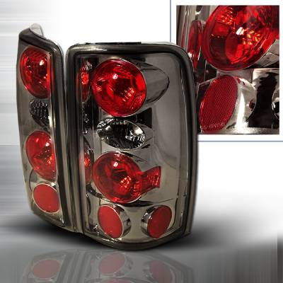 Headlights & Tail Lights - Tail Lights - Spec-D - GMC Denali Spec-D Altezza Taillights - Smoke - LT-DEN00G-KS