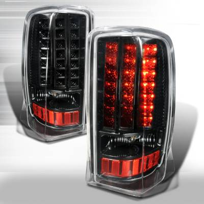 Headlights & Tail Lights - Tail Lights - Spec-D - Cadillac Escalade Spec-D LED Taillights - LT-ECLD02JMLED-LH