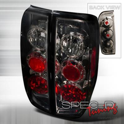 Headlights & Tail Lights - Tail Lights - Spec-D - Nissan Frontier Spec-D Altezza Taillights - Smoke - LT-FRO05G-TM
