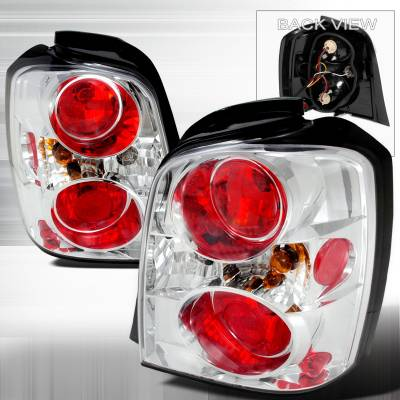 Headlights & Tail Lights - Tail Lights - Spec-D - Toyota Highlander Spec-D Altezza Taillights - Chrome - LT-HLDR04-TM