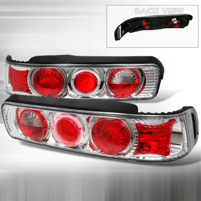 Spec-D - Acura Integra Spec-D Altezza Taillights - Chrome - LT-INT90H-KS