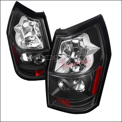 Headlights & Tail Lights - Tail Lights - Spec-D - Dodge Magnum Spec-D Altezza Taillights - Black - LT-MAG05JM-TM