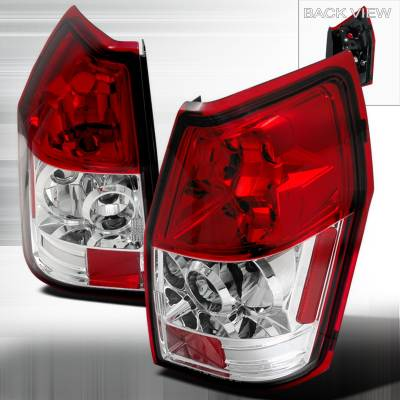 Headlights & Tail Lights - Tail Lights - Spec-D - Dodge Magnum Spec-D Altezza Taillights - Red - LT-MAG05R-TM