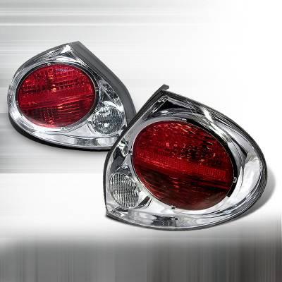 Headlights & Tail Lights - Tail Lights - Spec-D - Nissan Maxima Spec-D Altezza Taillights - Chrome - LT-MAX00-KS