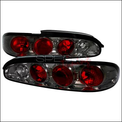 Headlights & Tail Lights - Tail Lights - Spec-D - Mazda MX6 Spec-D Altezza Taillights - Smoke - LT-MX693G-TM