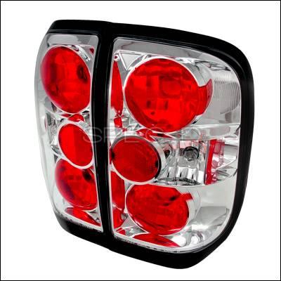 Headlights & Tail Lights - Tail Lights - Spec-D - Nissan Pathfinder Spec-D Altezza Taillights - Chrome - LT-PATH99-TM