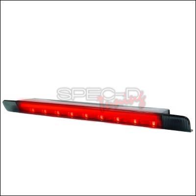 Headlights & Tail Lights - Tail Lights - Spec-D - Toyota Prius Spec-D LED Third Brake Lights - Smoke - LT-PUS10RBGLED-APC