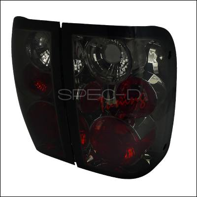 Headlights & Tail Lights - Tail Lights - Spec-D - Ford Ranger Spec-D Altezza Taillights - Smoke - LT-RAN01G-TM