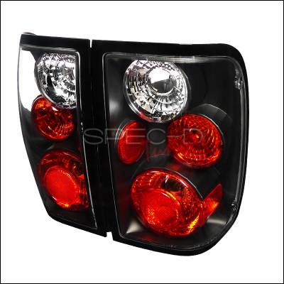 Headlights & Tail Lights - Tail Lights - Spec-D - Ford Ranger Spec-D Altezza Taillights - Black - LT-RAN01JM-TM