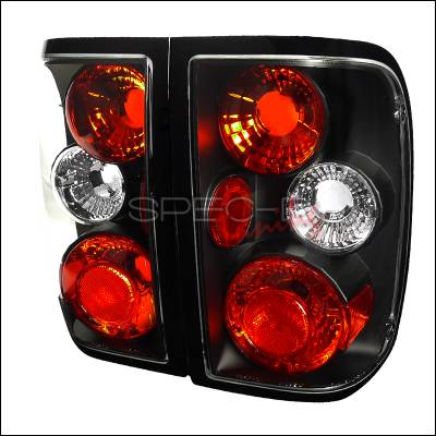 Headlights & Tail Lights - Tail Lights - Spec-D - Ford Ranger Spec-D Altezza Taillights - Black - LT-RAN93JM-TM