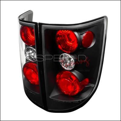 Headlights & Tail Lights - Tail Lights - Spec-D - Honda Ridgeline Spec-D Altezza Taillights - Black - LT-RGL05JM-TM