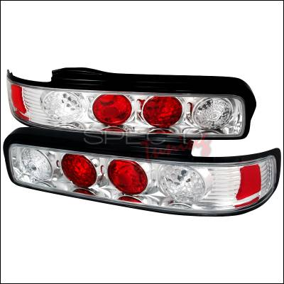 Headlights & Tail Lights - Tail Lights - Spec-D - Nissan 240SX Spec-D Altezza Taillights - Chrome - LT-S13892-TM