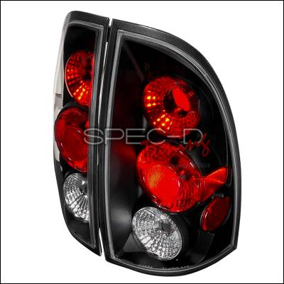 Headlights & Tail Lights - Tail Lights - Spec-D - Toyota Tacoma Spec-D Altezza Taillights - Black - LT-TAC06JM-TM
