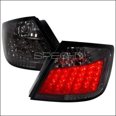 Headlights & Tail Lights - Tail Lights - Spec-D - Scion tC Spec-D LED Taillights - Smoke - LT-TC04GLED-TM