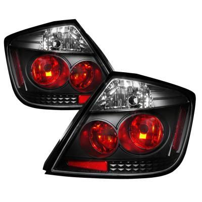 Headlights & Tail Lights - Tail Lights - Spec-D - Scion tC Spec-D Altezza Taillights - Black - LT-TC04JM-TM