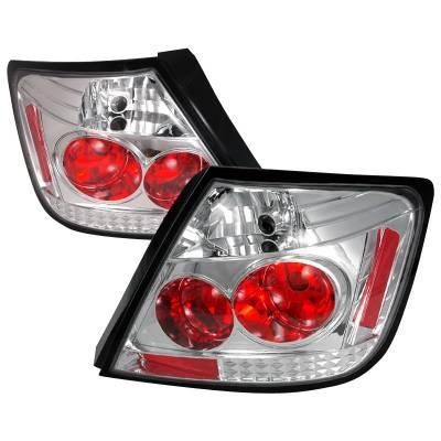 Headlights & Tail Lights - Tail Lights - Spec-D - Scion tC Spec-D Altezza Taillights - Chrome - LT-TC04-TM