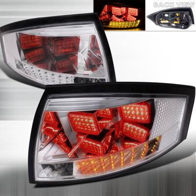 Headlights & Tail Lights - Tail Lights - Spec-D - Audi TT Spec-D LED Taillights - LT-TT99CLED-APC