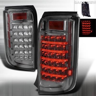 Headlights & Tail Lights - Tail Lights - Spec-D - Scion xB Spec-D LED Taillights - LT-XB08GLED-APC
