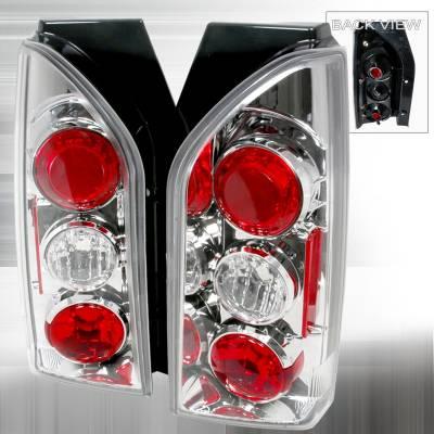 Headlights & Tail Lights - Tail Lights - Spec-D - Nissan Xterra Spec-D Altezza Taillights - Chrome - LT-XTE05-TM