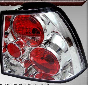 Headlights & Tail Lights - Tail Lights - TYC - Euro Lights Clear - TYC11566300