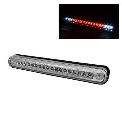 Headlights & Tail Lights - Third Brake Lights - Spyder - Chevrolet C10 Spyder LED 3RD Brake Light - Chrome - BKL-CCK88-LED-C