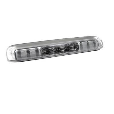 Headlights & Tail Lights - Third Brake Lights - Spyder - GMC Sierra Spyder LED 3RD Brake Light - Chrome - BKL-CS99-LED-C