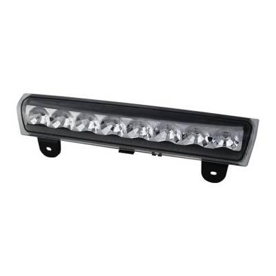 Headlights & Tail Lights - Third Brake Lights - Spyder - Chevrolet Tahoe Spyder LED 3RD Brake Light - Clear - BKL-CSUB00-LED-C