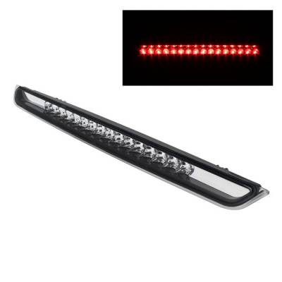 Headlights & Tail Lights - Third Brake Lights - Spyder - Chevrolet Suburban Spyder LED 3RD Brake Light - Clear - BKL-CSUB07-LED-C