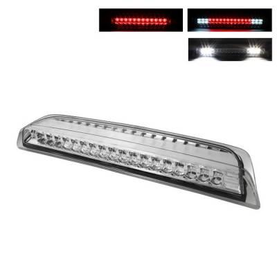 Headlights & Tail Lights - Third Brake Lights - Spyder - Nissan Titan Spyder LED 3RD Brake Light - Chrome - BKL-NTIT04-LED-C