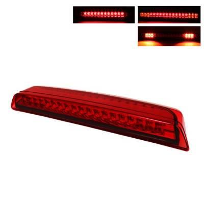 Headlights & Tail Lights - Third Brake Lights - Spyder - Nissan Titan Spyder LED 3RD Brake LighT-Red - BKL-NTIT04-LED-RD