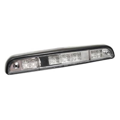 Headlights & Tail Lights - Third Brake Lights - Spyder - Ford Bronco Spyder LED 3RD Brake Light - Chrome - BL-CL-FB92-LED-C