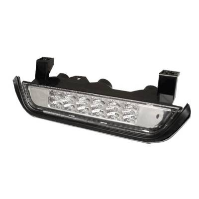 Headlights & Tail Lights - Third Brake Lights - Spyder - Jeep Grand Cherokee Spyder LED 3RD Brake Light - Chrome - BL-CL-JC93-LED-C
