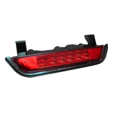 Headlights & Tail Lights - Third Brake Lights - Spyder - Jeep Grand Cherokee Spyder LED 3RD Brake LighT-Red - BL-CL-JC93-LED-RD