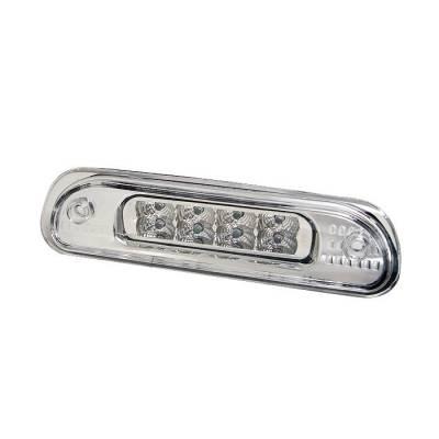 Headlights & Tail Lights - Third Brake Lights - Spyder - Jeep Grand Cherokee Spyder LED 3RD Brake Light - Chrome - BL-CL-JG99-LED-C