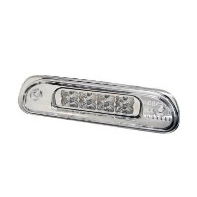 Headlights & Tail Lights - Third Brake Lights - Spyder Auto - Jeep Grand Cherokee Spyder LED Third Brake Light - Chrome - BL-CL-JG99-LED-C