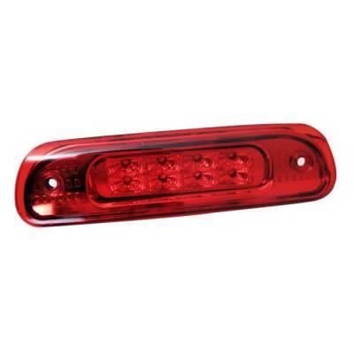 Headlights & Tail Lights - Third Brake Lights - Spyder Auto - Jeep Grand Cherokee Spyder LED Third Brake Light - Red - BL-CL-JG99-LED-RD