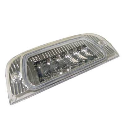 Headlights & Tail Lights - Third Brake Lights - Spyder - Jeep Liberty Spyder LED 3RD Brake Light - Chrome - BL-CL-JL02-LED-C