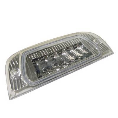 Headlights & Tail Lights - Third Brake Lights - Spyder Auto - Jeep Liberty Spyder LED Third Brake Light - Chrome - BL-CL-JL02-LED-C
