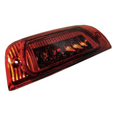 Headlights & Tail Lights - Third Brake Lights - Spyder Auto - Jeep Liberty Spyder LED Third Brake Light - Red - BL-CL-JL02-LED-RD