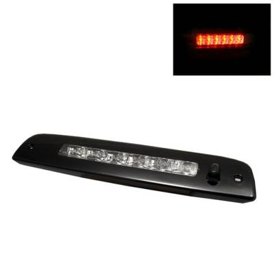 Headlights & Tail Lights - Third Brake Lights - Spyder - Lincoln Navigator Spyder LED 3RD Brake Light - Chrome - BL-CL-LN03-LED-C