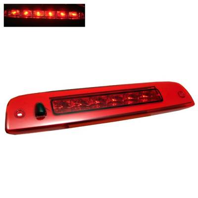Headlights & Tail Lights - Third Brake Lights - Spyder - Lincoln Navigator Spyder LED 3RD Brake LighT-Red - BL-CL-LN03-LED-RD