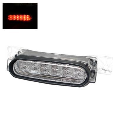 Headlights & Tail Lights - Third Brake Lights - Spyder - Mazda RX-8 Spyder LED 3RD Brake Light - Chrome - BL-CL-MAZRX8-LED-C