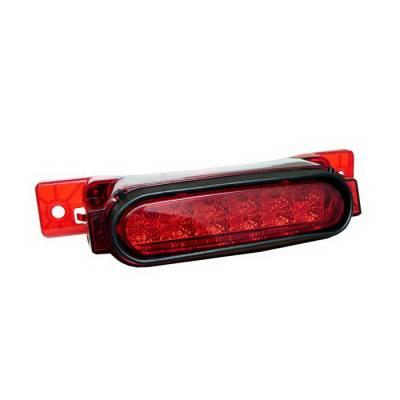 Headlights & Tail Lights - Third Brake Lights - Spyder Auto - Mazda RX-8 Spyder LED Third Brake Light - Red - BL-CL-MAZRX8-LED-RD