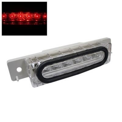 Headlights & Tail Lights - Third Brake Lights - Spyder - Mazda MX5 Spyder 3RD LED Brake Light - Chrome - BL-CL-MMX590-LED-C