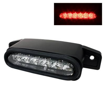 Headlights & Tail Lights - Third Brake Lights - Spyder - Mazda MX5 Spyder 3RD LED Brake Light - Chrome - BL-CL-MMX598-LED-C