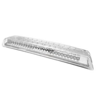 Headlights & Tail Lights - Third Brake Lights - Spyder - Nissan Titan Spyder LED 3RD Brake Light - Chrome - BL-CL-NTI04-LED-C